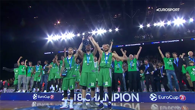Darussafaka down Lokomotiv Kuban to win EuroCup