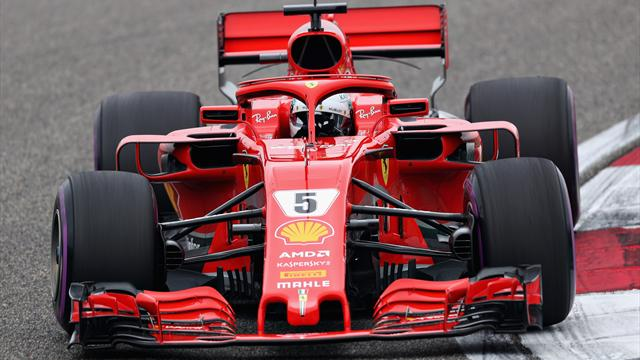 Vettel batte ancora Raikkonen nel finale! Prima fila Ferrari, Mercedes lontana