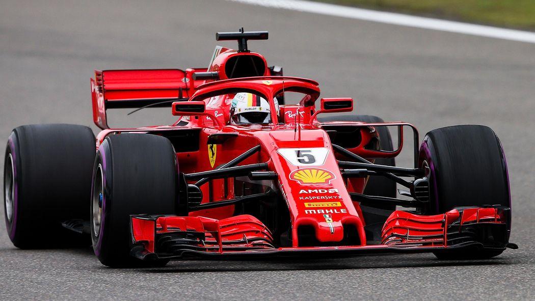 Sebastian Vettel Vor Kimi Räikkönen Ferrari Deklassiert Im
