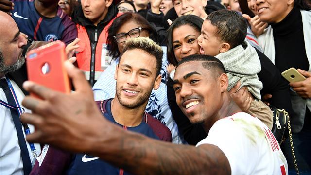 Malcom exprime son admiration pour le PSG — Bordeaux