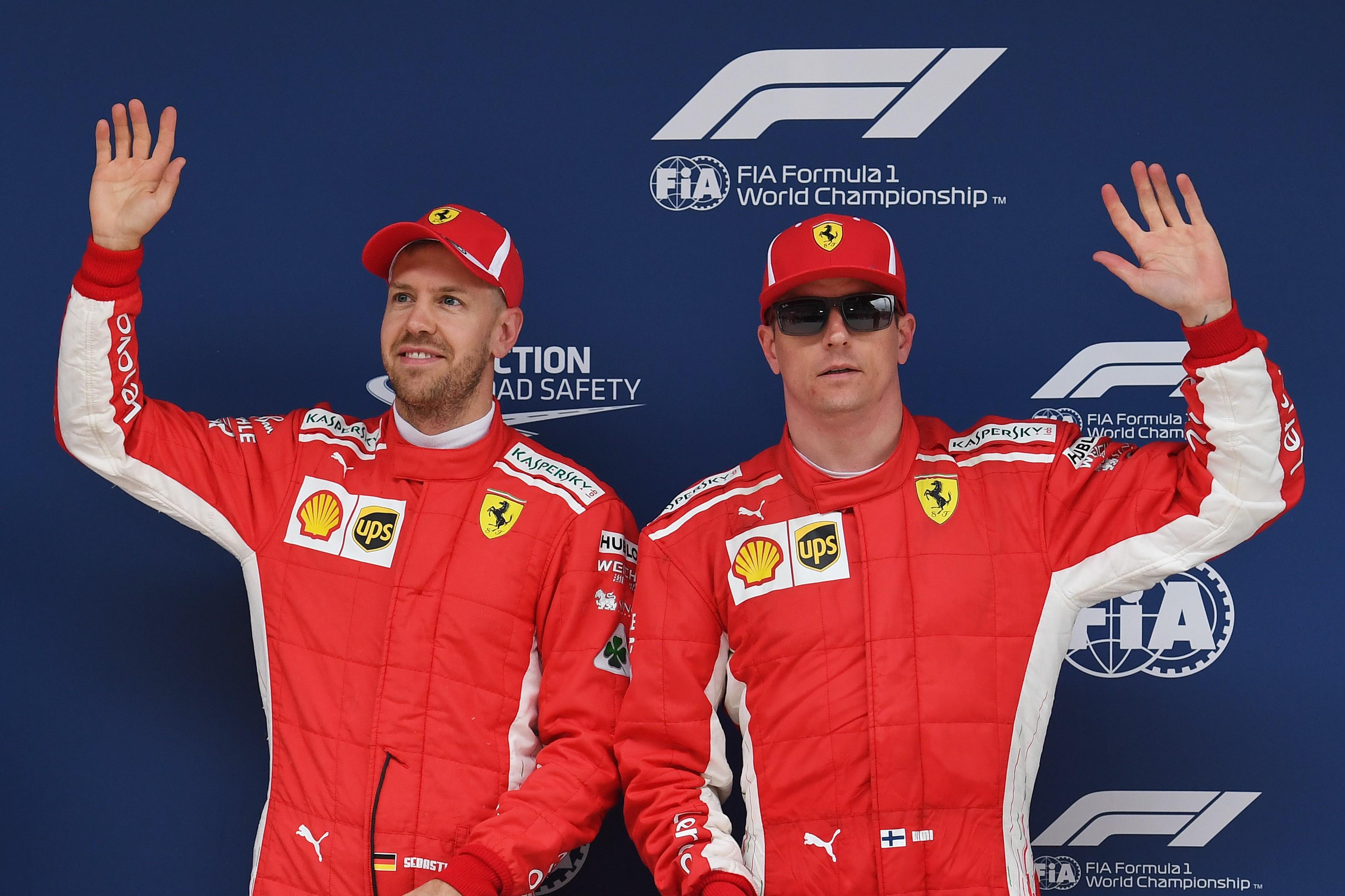 Sebastian Vettel et Sebastian Vettel (Ferrari) au Grand Prix de Chine 2018