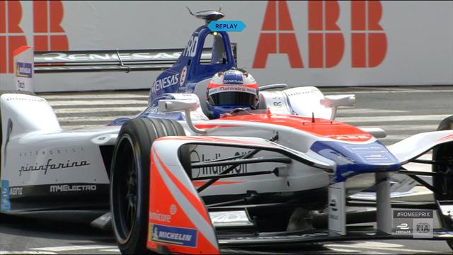 Rosenqvist takes pole in Rome E-Prix