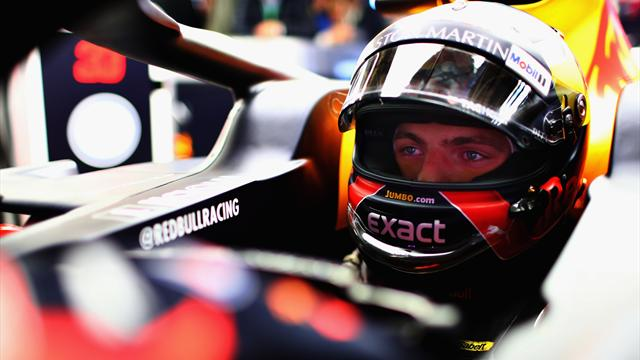 Cinquième, Verstappen s'estime à sa place