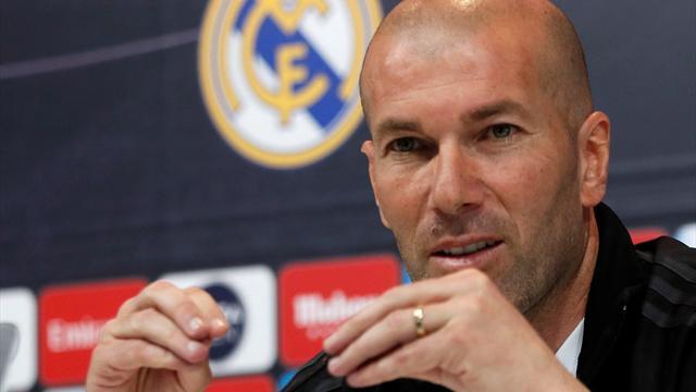 Zidane quita importancia al cántico de Juanfran y felicita al Atlético por la Europa League