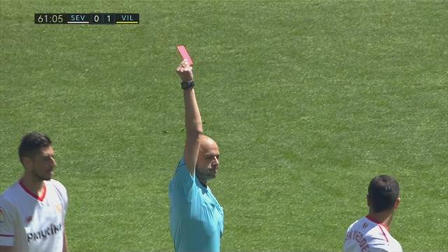 Highlights: Brændt straffe, to røde kort, kongemål og flot comeback! Sevilla og Villarreal havde alt