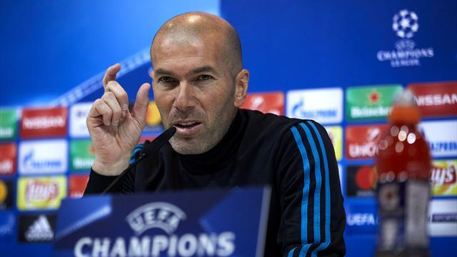 Zinedine Zidane wary of Malaga as Real Madrid return to LaLiga action