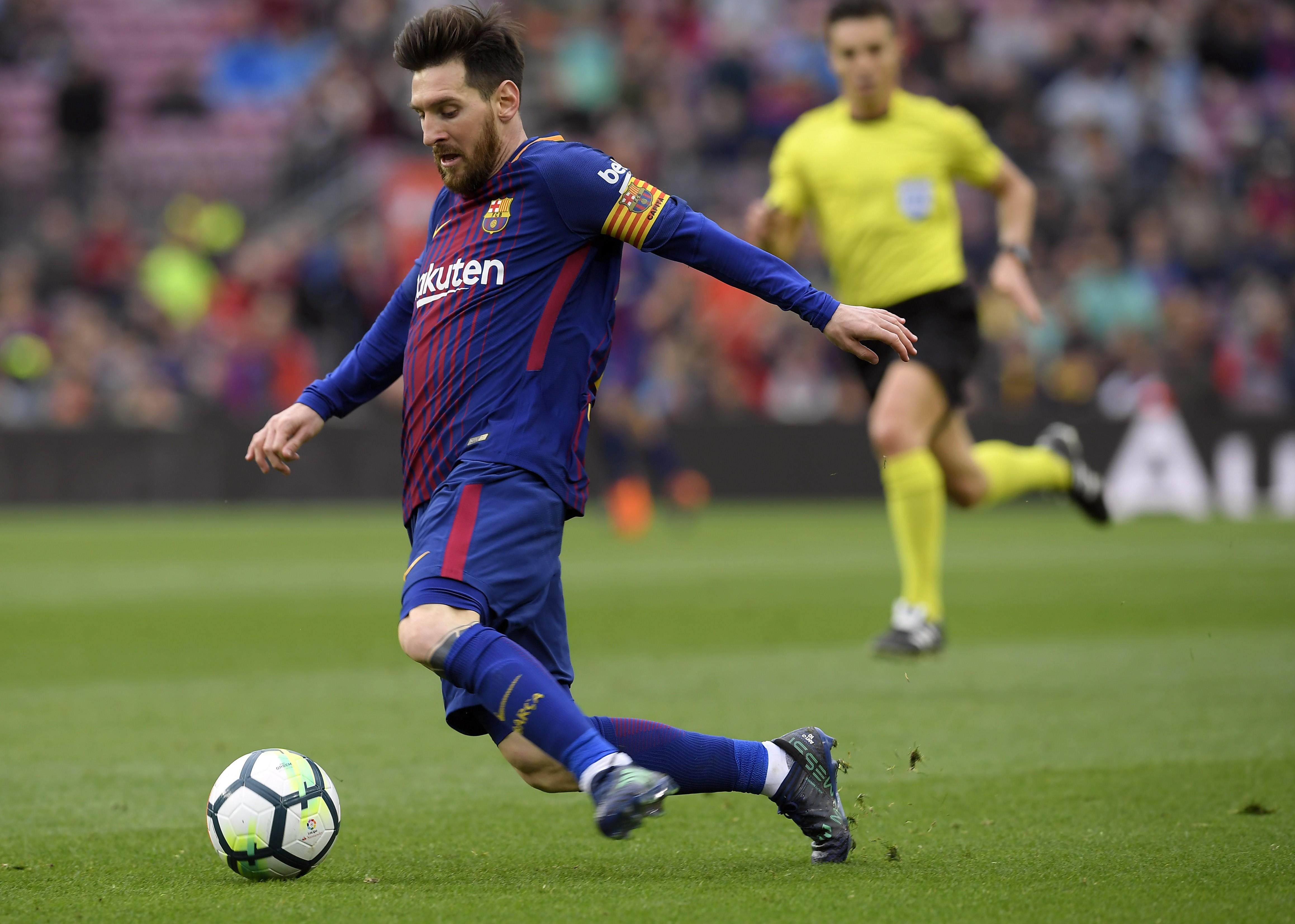 Лионель Месси («Барселона»), «Валенсия»