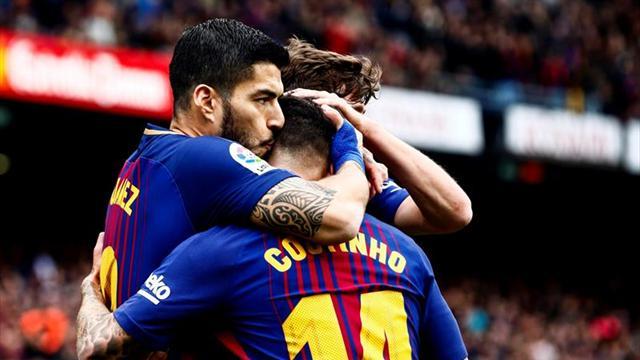 El Barcelona implantó récord al ganarle 2-1 al Valencia
