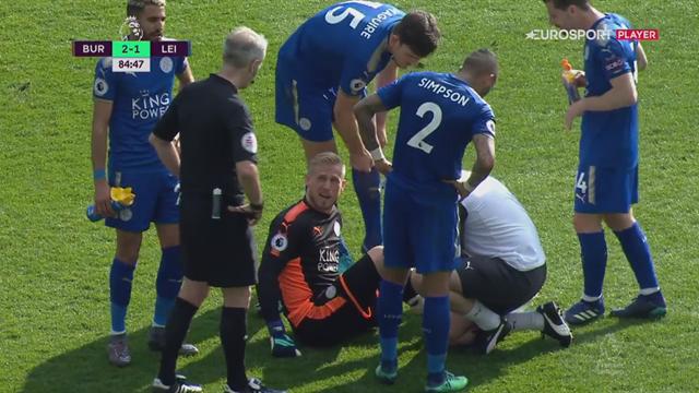 Highlights: Schmeichel udgår i Leicester-skuffelse mod Burnley!