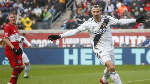 Zlatans mål räckte - Galaxy slog Chicago Fire