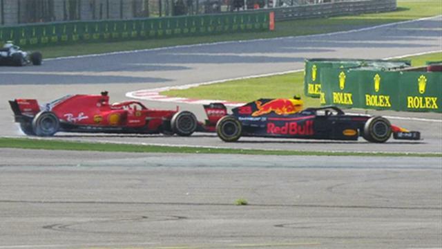 Vettel von Verstappen abgeräumt, Ricciardo triumphiert