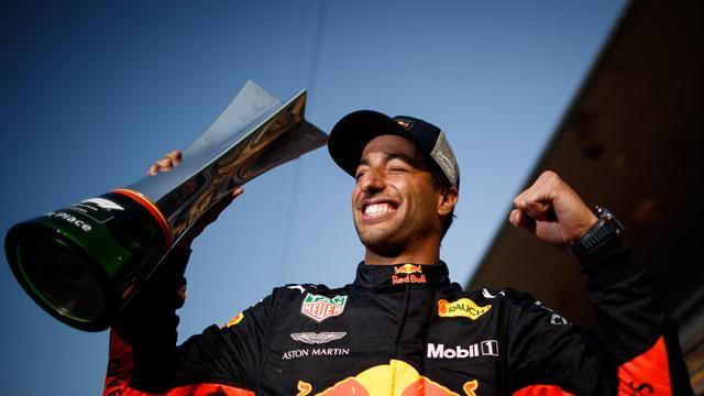 Nueva exhibición de Alonso y victoria de Ricciardo tras una jugada maestra de Red Bull