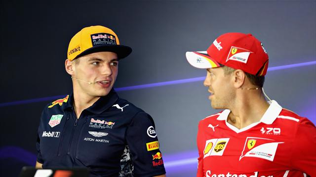 Verstappen admits Vettel collision was his fault