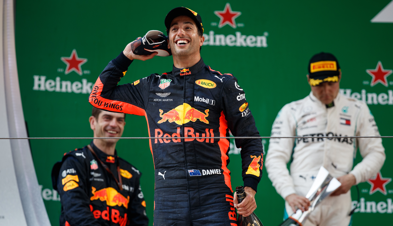 Daniel Ricciardo (Red Bull) au Grand Prix de Chine 2018