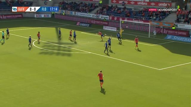Her sender han Aalesund til tabelltopp med sin første scoring