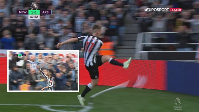 Highlights: Newcastle slog Arsenal for første gang i otte år!