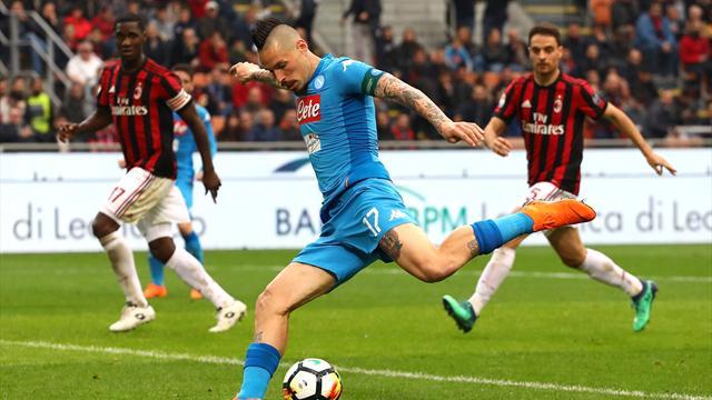 A une semaine du choc face à la Juve, Naples perd encore du terrain