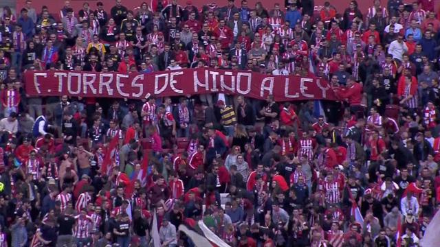 El gesto de cariño del Metropolitano a Fernando Torres tras conocer su marcha