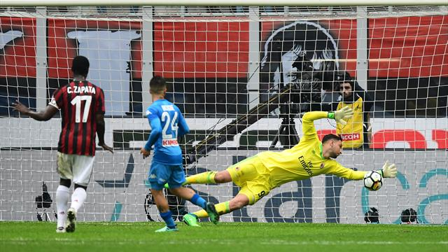 Juve take advantage after Donnarumma brilliance foils Napoli