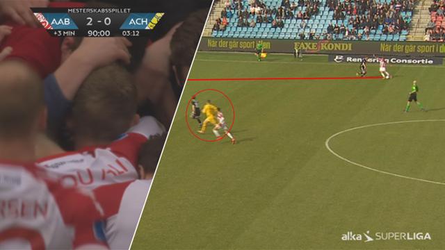 Highlights: AaB fik oprejsning mod Horsens, der satsede alt til sidst!