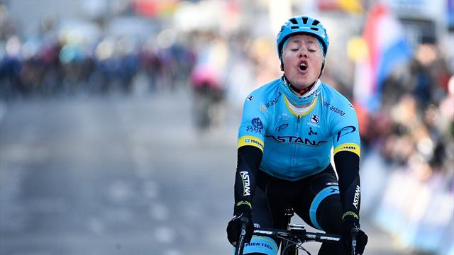 Michael Valgren sprints to Amstel Gold Race win