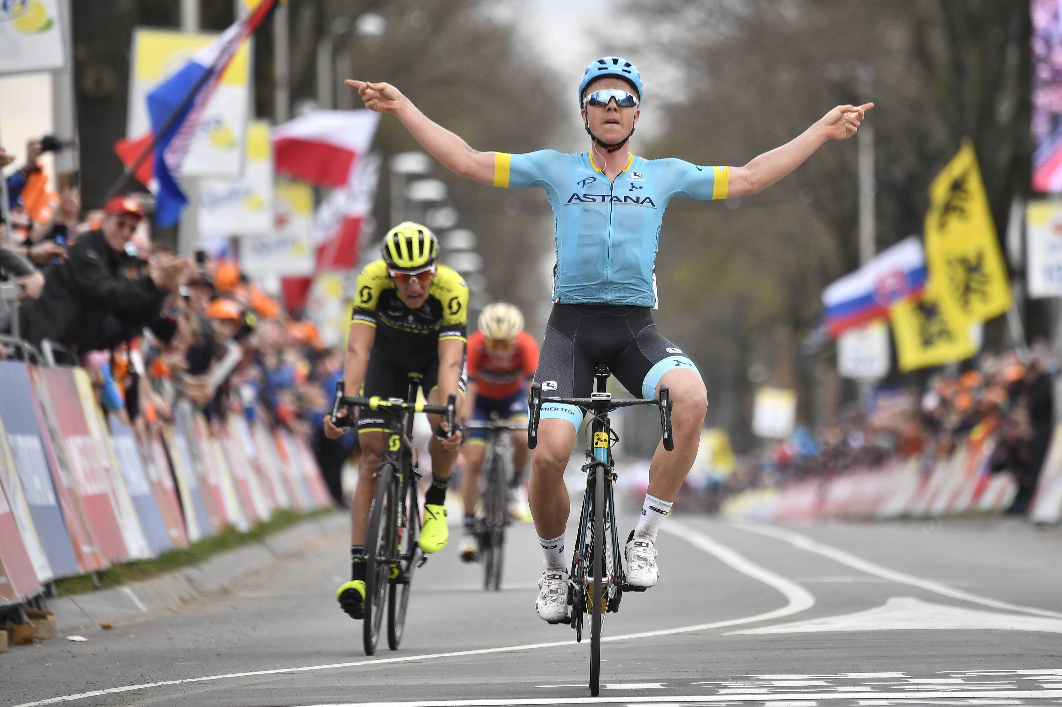 Michael Valgren (Astana) - Amstel Gold Race