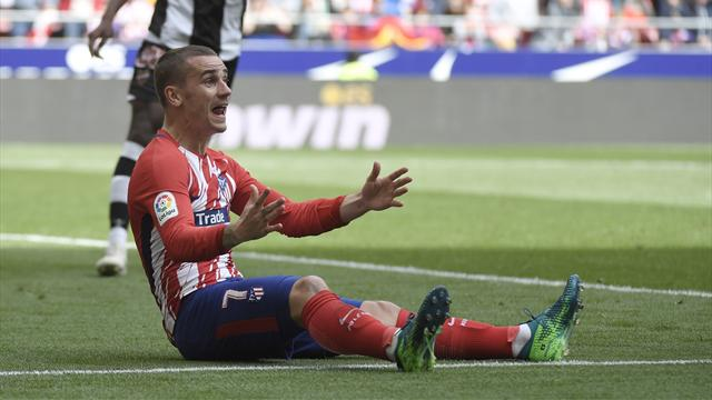 Atletico ease to win over Levante