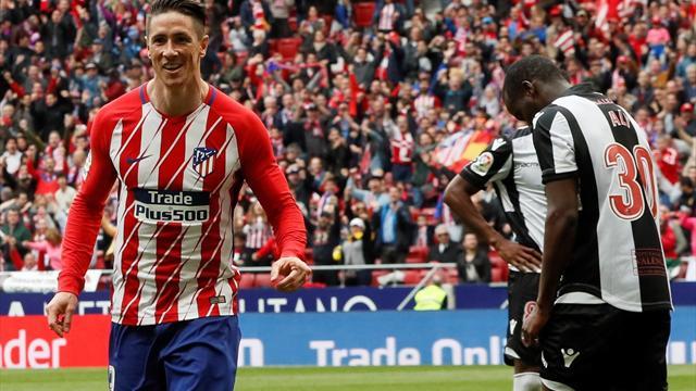LaLiga, Atlético-Levante: La leyenda del Niño Torres (3-0)