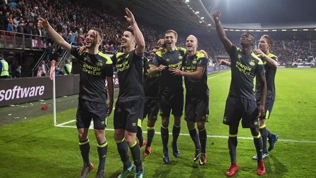 PSV Eindhoven zum 24. Mal Meister der Niederlande