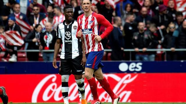 """Simeone: """"Torres tiene un lugar que no lo cambiará un título o un gol más"""""""