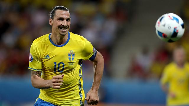Zlatan Ibrahimovic talks up his chances of representing Sweden at the World Cup