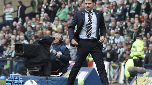 Rangers boss Graeme Murty apologises after Celtic defeat