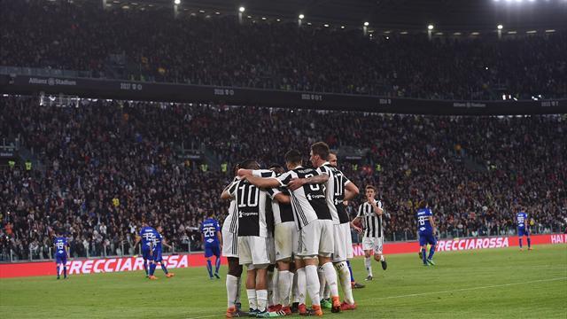 Remise de sa déception européenne, la Juve fonce vers le titre
