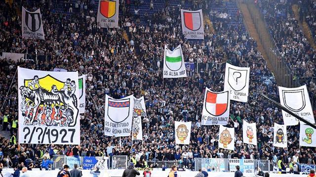 Aficionados del Lazio entonan cánticos antisemitas poco antes del derbi