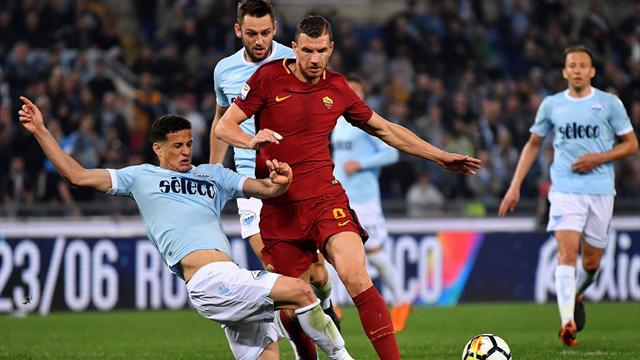 La Roma sbatte sui legni, una Lazio tosta non sfonda: 0-0 nel derby