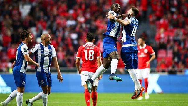 0-1. El Oporto le arrebata el liderato al Benfica en el 90