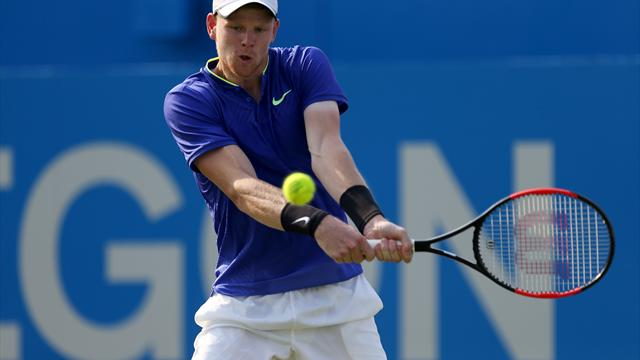Kyle Edmund in good spirits despite missing out on first ATP Tour title