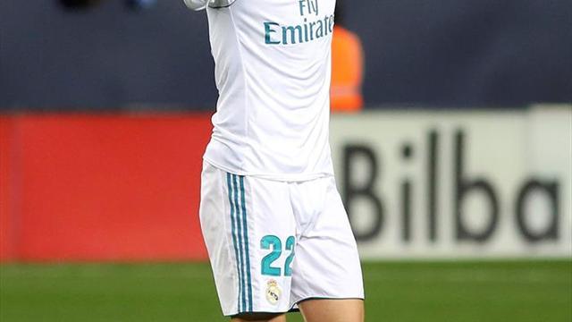 Isco pone con ventaja al Real Madrid al descanso (0-1)