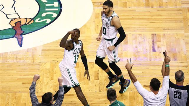 Dramatik sonda kazanan Boston Celtics