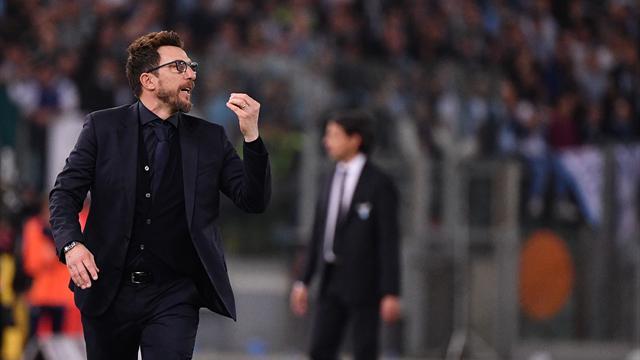 """Di Francesco: """"Lazio forse più determinata"""". Inzaghi: """"Con più fortuna avremmo vinto"""""""