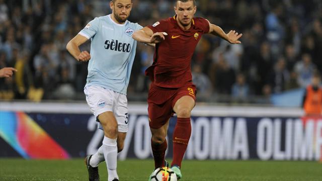 Lazio en AS Roma houden elkaar in evenwicht in matige derby