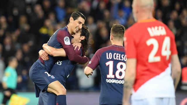 El PSG de Emery, campeón de la Ligue 1 tras pasar por encima del Mónaco (7-1)