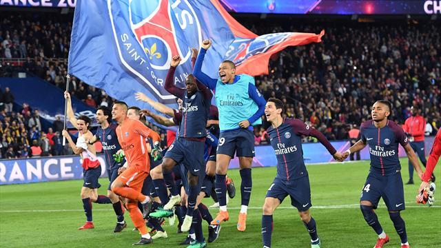 Paris St. Germain zum siebten Mal französischer Fußballmeister - 7:1 gegen Monaco
