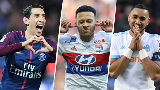 Di Maria, Depay, Payet… Votez pour le meilleur joueur de la 33e journée de Ligue 1