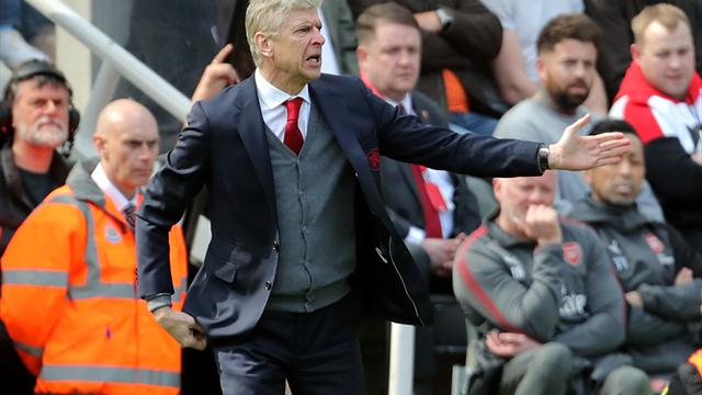 Wenger admits Arsenal don't have the right balance after defeat at Newcastle