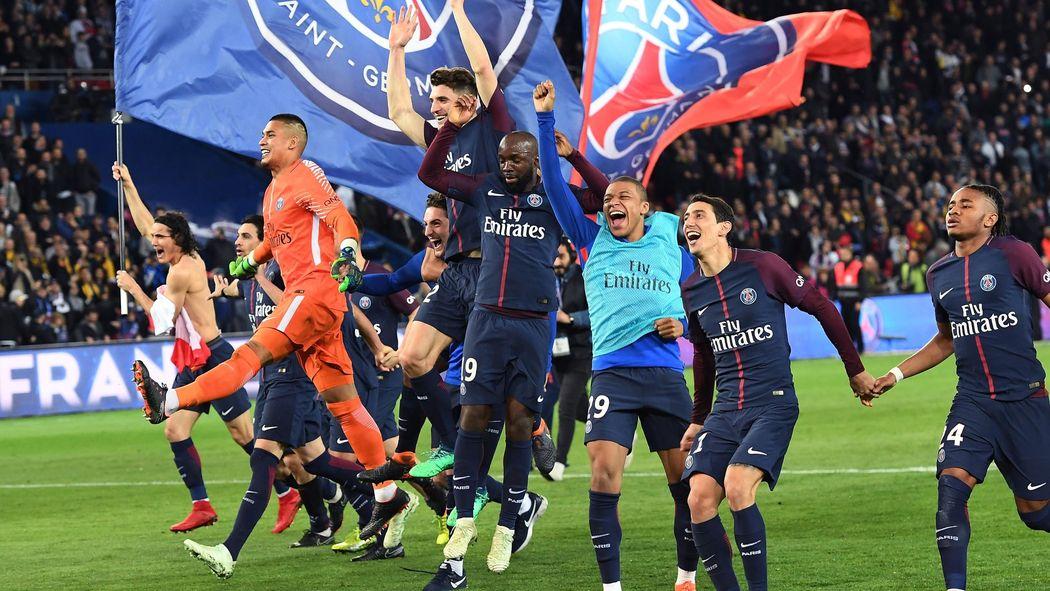 Psg Thrash As Monaco To Clinch Ligue  Title Ligue  Football Eurosport