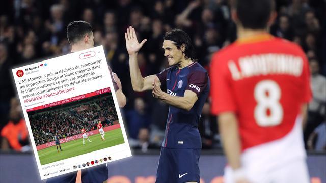 El Mónaco devolverá el dinero de las entradas tras la goleada encajada ante el PSG