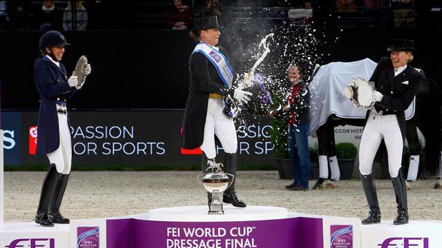 Изабель Верт снова чемпионка мира!