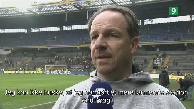 Alexander Zorniger: Jeg kan ikke huske, at jeg har hørt et mere larmende stadion