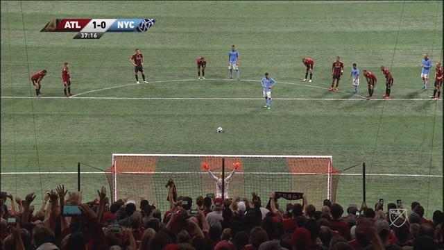 MLS, Atlanta-New York City-: El gol de Villa de penalti que ayudó a su equipo a seguir invicto (2-2)